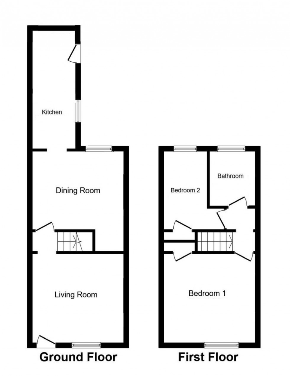 Floorplan for New Street, Wilmslow, Cheshire